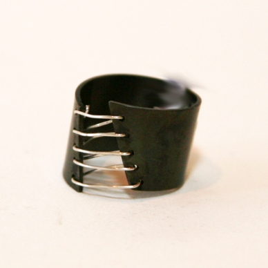 Steel Wire Ring $75