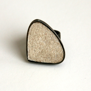 Triangle Grout Ring $85