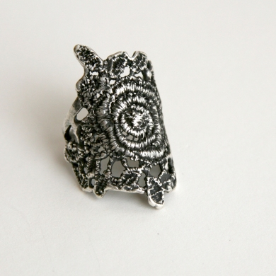 Lace Patina Ring $165